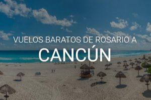 vuelos barartos de rosario a cancún