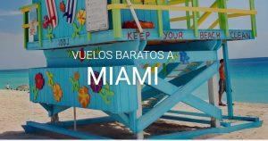 Vuelos a Miami desde Buenos Aires desde 500 dólares