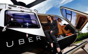 uber copter helicóptero de uber