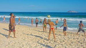 fútbol playa en ipanema